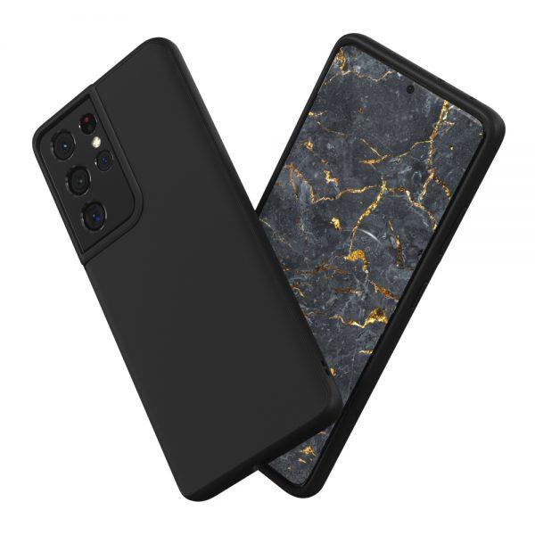 Чехол-накладка RhinoShield SolidSuit черный для Samsung Galaxy S21 Ultra