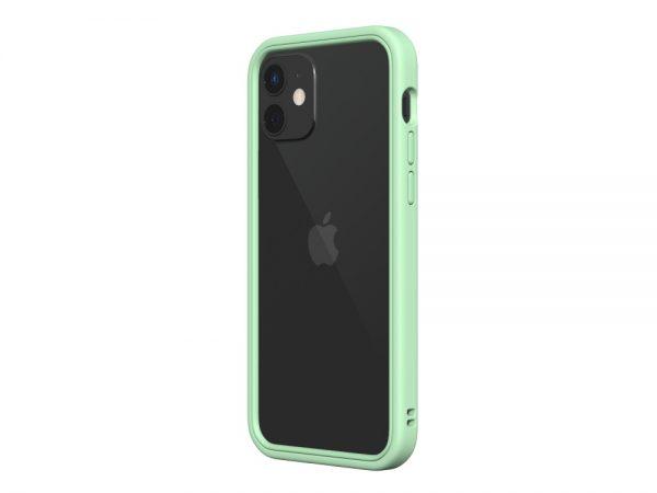 Чехол-бампер RhinoShield   мятный для Apple iPhone 12/12 Pro с защитой от падений с 3.5 м
