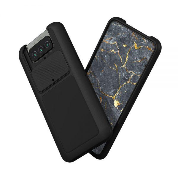 Чехол-накладка RhinoShield SolidSuit черный для Asus Zenfone 8 flip