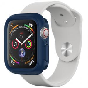 Защитный чехол RhinoShield темно-синий для часов Apple Watch 44 мм 4/5/6/se serie